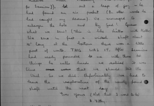 Log Book Ludwell Cave Dig (1955 to 1956)